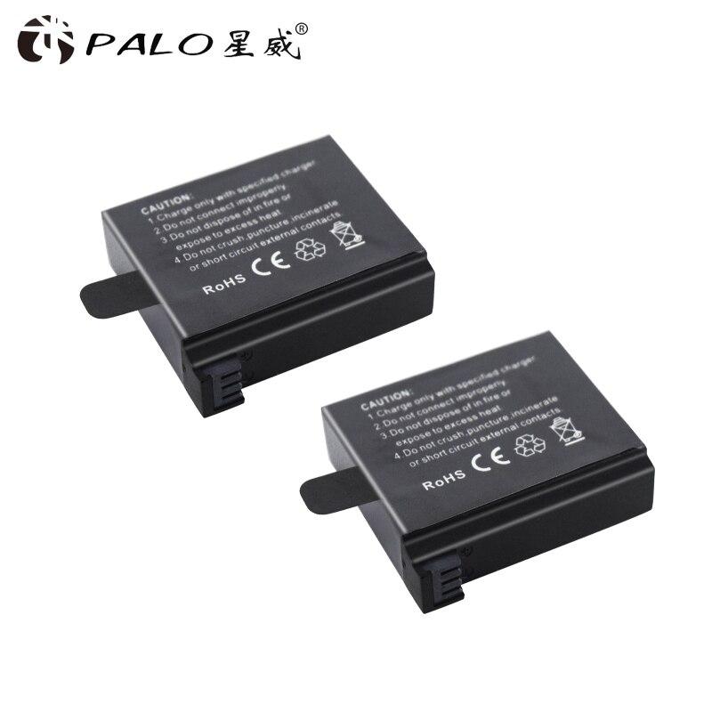 2Pcs HD Hero 4 4+ AHDBT-401 Camera Battery for Gopro Hero 4 cameras 1600mah 3.8v digital camera batterias rechargeable bateria