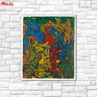 Big Wall Art Graffiti Oil Painting Wall Art Picture Paiting Canvas Paints Home Decor Abstract Print