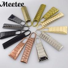 10pcs European Eco-Friendly Metal Zipper Pulls For Head Pendant Clothes Bag Shoes Zip Puller Sliders Sewing Tool A017