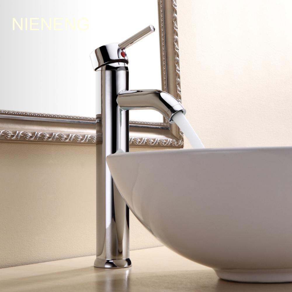 NIENENG bathroom faucet bath sink mixer tap accessories faucets new hotel apartment mixers basin taps polished toilet ICD60197 вино pourers акрил стекло вино аксессуары высокое качество творческийforbarware см 0 022 кг 1шт