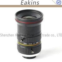 8MP 20mm HD Fixed Focus Manual IRIS CS C Mount Lens For CCTV Camera Microscope Camera