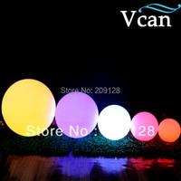 Comprar 50 cm gran tamaño grande exterior Interior colores cambiar control remoto LED bola luces operadas por