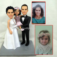 Valentine's day gift for girlfriend custom Birthday cake topper Provide photos to make unique gift frozen party favor cake decor