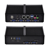 Qotom Mini PC безвентиляторный Qotom Q370P с 4th поколения Core i7 4500U процессор Haswell, RS485 VGA вариант, WI FI, 3g/4 г WIN10