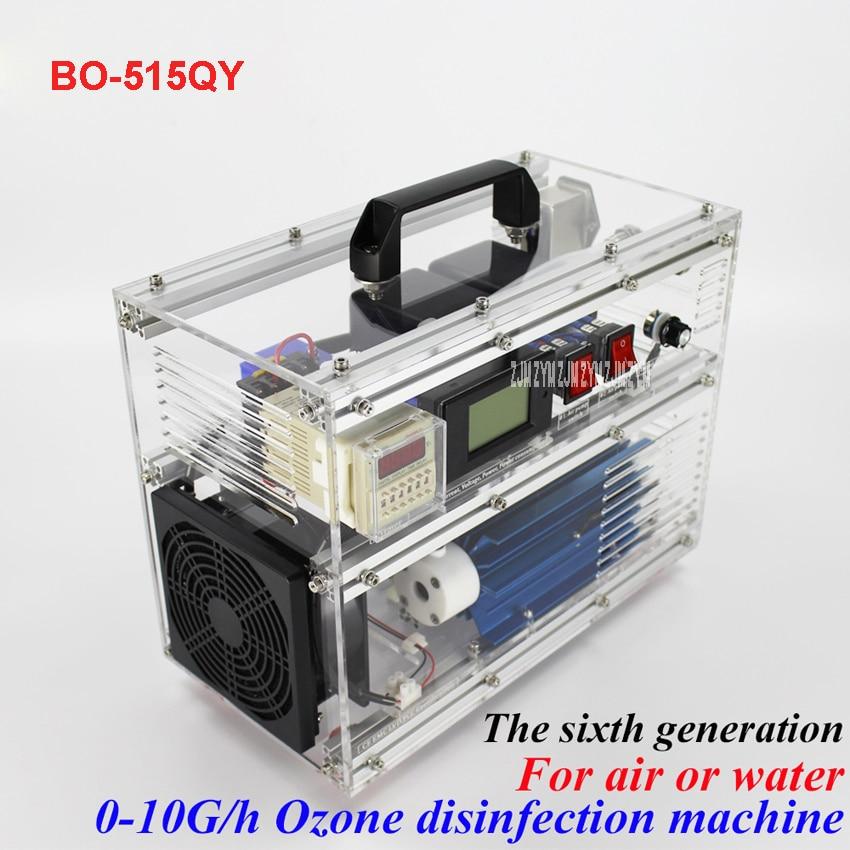 BO-515QY Ozona ģenerators 5 g / h (regulējams) grams ģenerators AC220V / AC110V Regolabile ozono terapia mašīna 80W