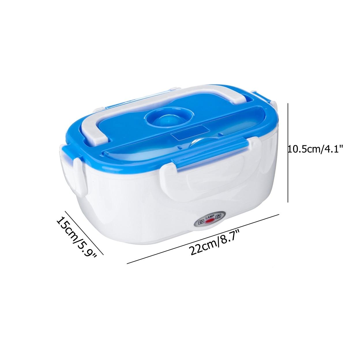 Портативный Ланч-бокс, контейнер для еды, электрическое отопление, подогреватель, рисовый контейнер, наборы посуды, 12 В/40 Вт