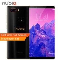 ZTE Nubia Z17S Z17 S Full Screen Mobile Phone Snapdragon 835 6 8GB RAM 64 128GB