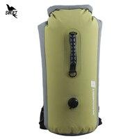 25 60L Professional IPX7 Waterproof Swimming Bag 2016 Inflatable Snorkeling Rafting Drifting Diving Dry Bag Backpack Stuff Sack