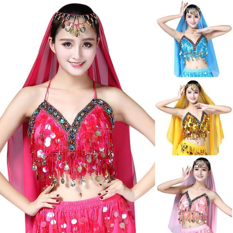 Belly dance sequins fringed bra dance uniforms code