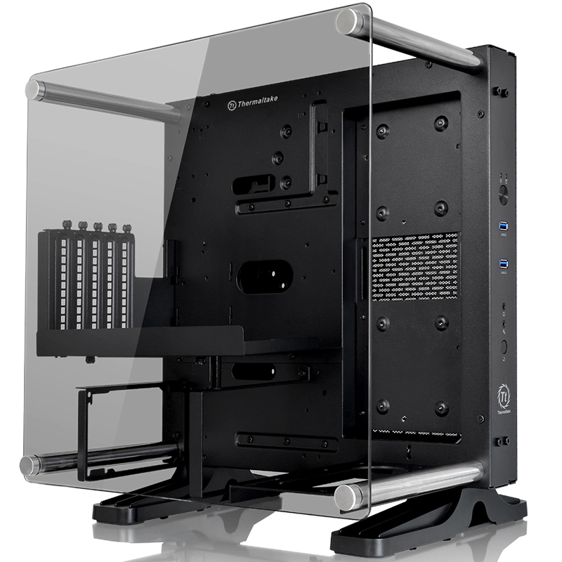 Core P1 Mini Chassis Wall Mount ITX Motherboard Open Water Cool Chassis Main Chassis ...