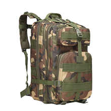 Cycling Sports Backpack Outdoor Hiking Travel Camping Camouflage Bag Tactical 45L Large 3P