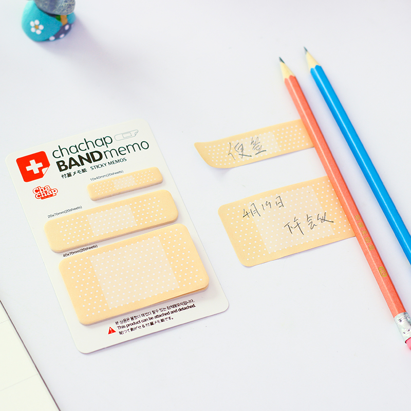 60 pcs/Lot Band sticky memos pad Novelty post stickers Scrapbooking Stationery office planner tools School supplies FM432