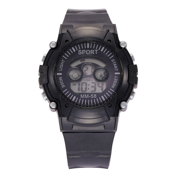 Date LED Digital Sport Quartz Mens Military Wrist Watch Children Watch For Boys