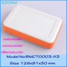4 pcs/lot plastic desktop enclosure handheld electronic enclosure abs box electronics 126x81x30 mm