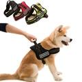 Pet Grande Cão Material de Nylon Macia & Arnês Colete de Algodão Acolchoado Durável, Andando Correndo Médio Grande Arnês Do Cão Personalizado Leash