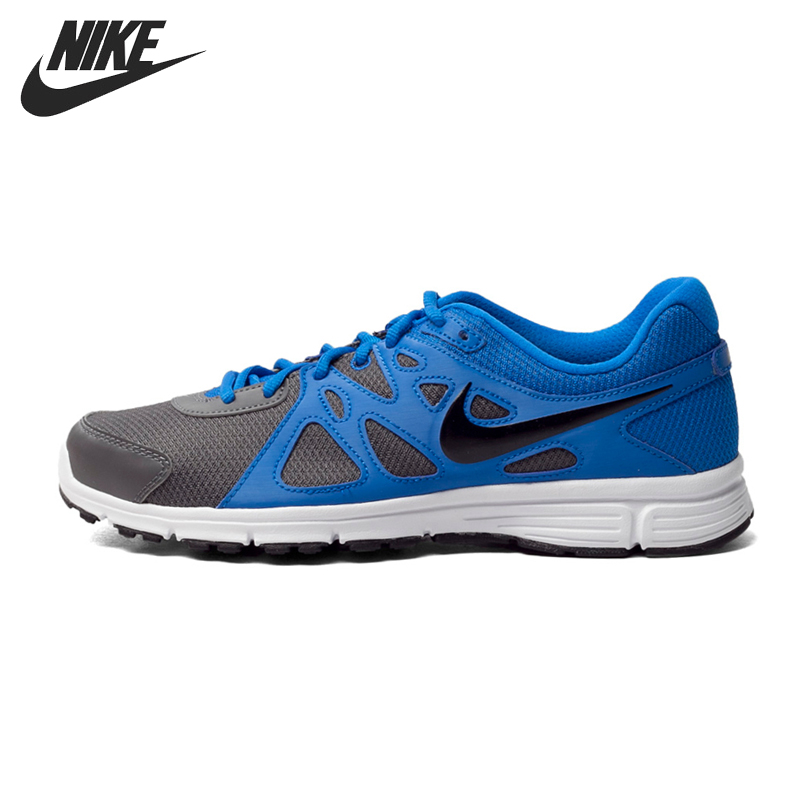 Nike LUNAREPIC Flyknit Running Shoes Mens 10 Black Blue Glow