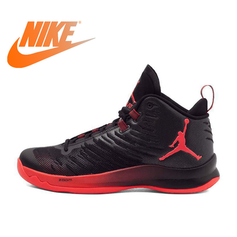 42e1e137428287 Original Authentic NIKE JORDAN SUPER.FLY 5 X Men s Breathable Basketball  Shoes Sneakers Non slip Sport High Thread Shoes 850700-in Basketball Shoes  from ...