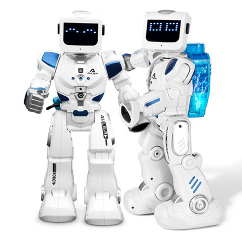 Intelligent Remote Control Robot Alpha Smart Hydroelectric Hybrid Robot RC Electronic Programming Singing Dancing Robot Children