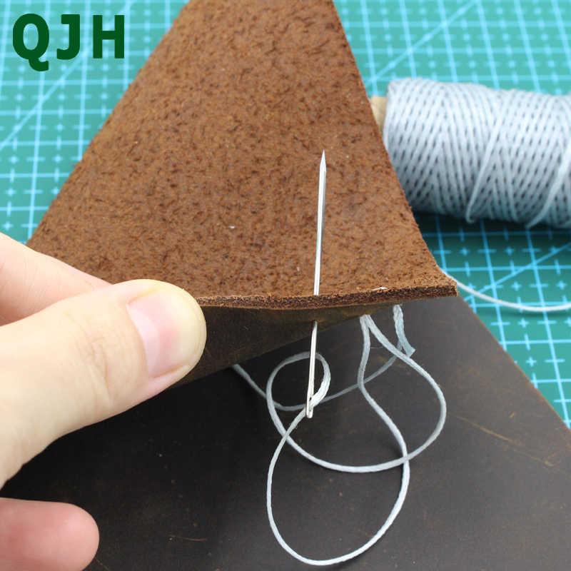 Lavorazione della pelle In Pelle FAI DA TE Triangolare Aghi di Cuoio pelliccia Speciale In Acciaio Inox A Forma di Spille Punto Cucito Forniture Per Cucire