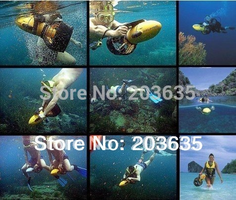300w Sea Scooter hand tool sets Underwater propeller,High Grade Diving tool Equipment