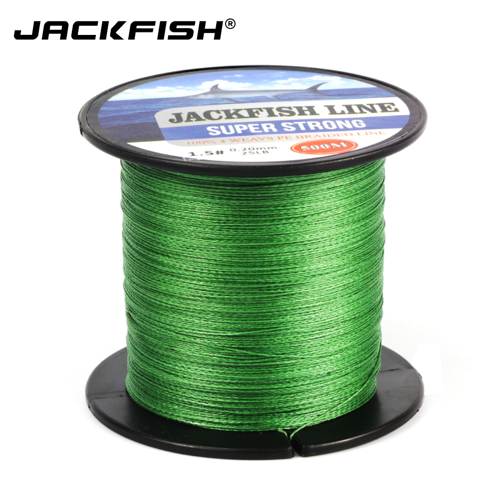 4 strand 500m super strong pe braided fishing line 10 60lb for Best braided fishing line saltwater