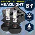 2x Super Bright Car Headlight Bulbs H4/H13/ H11/H7/9006/ 9005 LED CSP Cree Chips 8000lm 50W 6500K Auto Fog Light Car Lighting