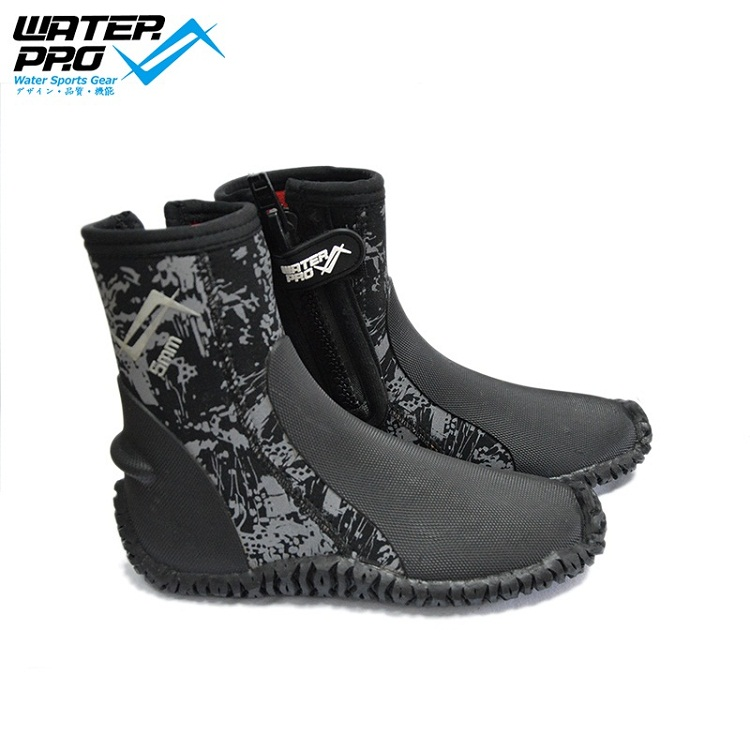 Water Pro GS 5mm Dive Boots ჩაძირვის Snorkeling Scuba– სთვის