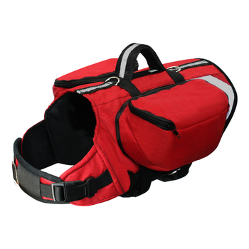 Dog Saddlebag-Harness