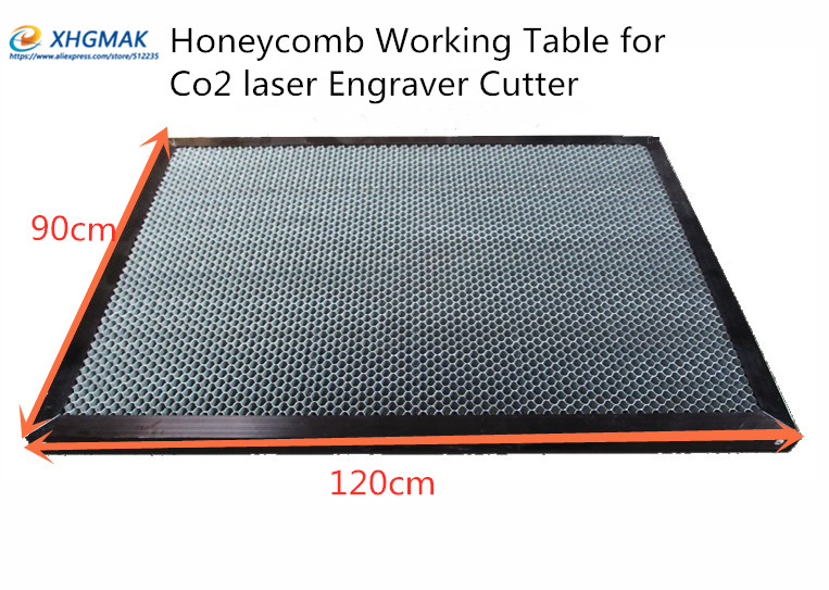 120*90cm Aluminum Honeycomb Table For Laser Engraver Machine 1290 Honeycomb Platform Laser Machine Parts