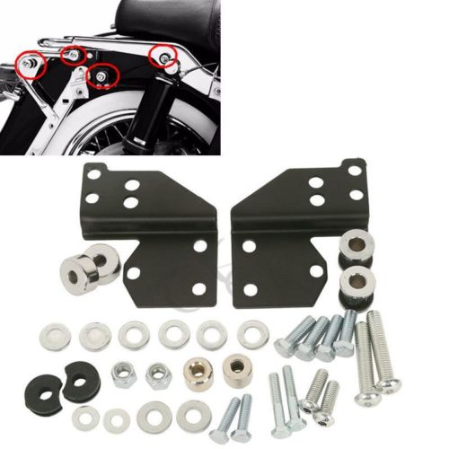 Detachables Front Docking Hardware Kit For Harley Touring Models Road King Street Electra Glide 97 08
