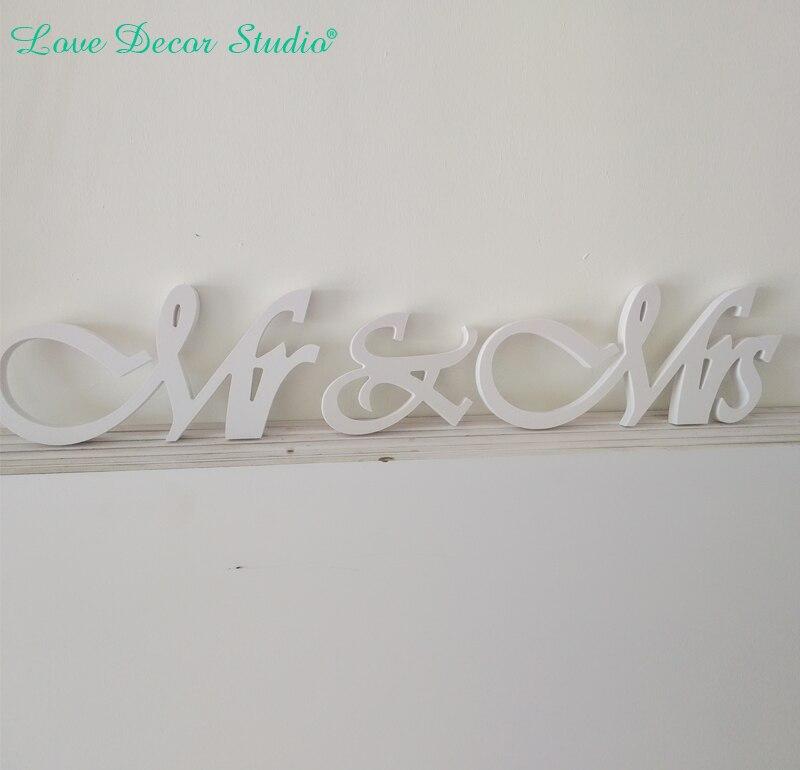 Стенд независимо мистер и миссис знак свадебные украшения мистер и миссис письма