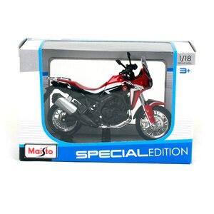 Image 5 - 1:18 skala Maisto Honda CRF1000L afryka Twin DCT 2016 Sport Diecast Off motocykl szosoway Model zabawkowy prezenty dla dzieci
