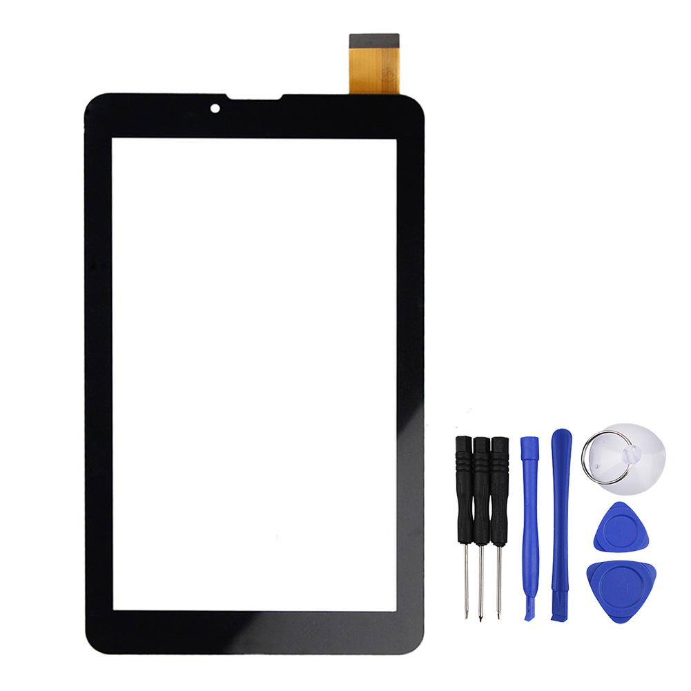 7inch Brand New Black Touch Screen FPC-70F2-V01 Panel Digitizer for E708 3G Screen Tablet free shipping fpc 760a0 v01 touch screen