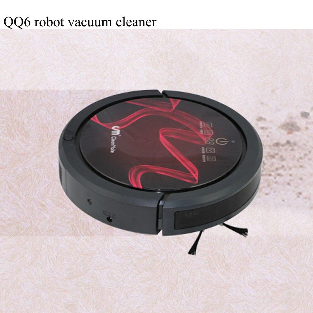 Marque Cleanmate QQ6 APP WIFI aspirateur robot nettoyeur de sol AUTOMATIQUE nettoyeur temps forte aspiration humide sec vadrouille + stérilisation