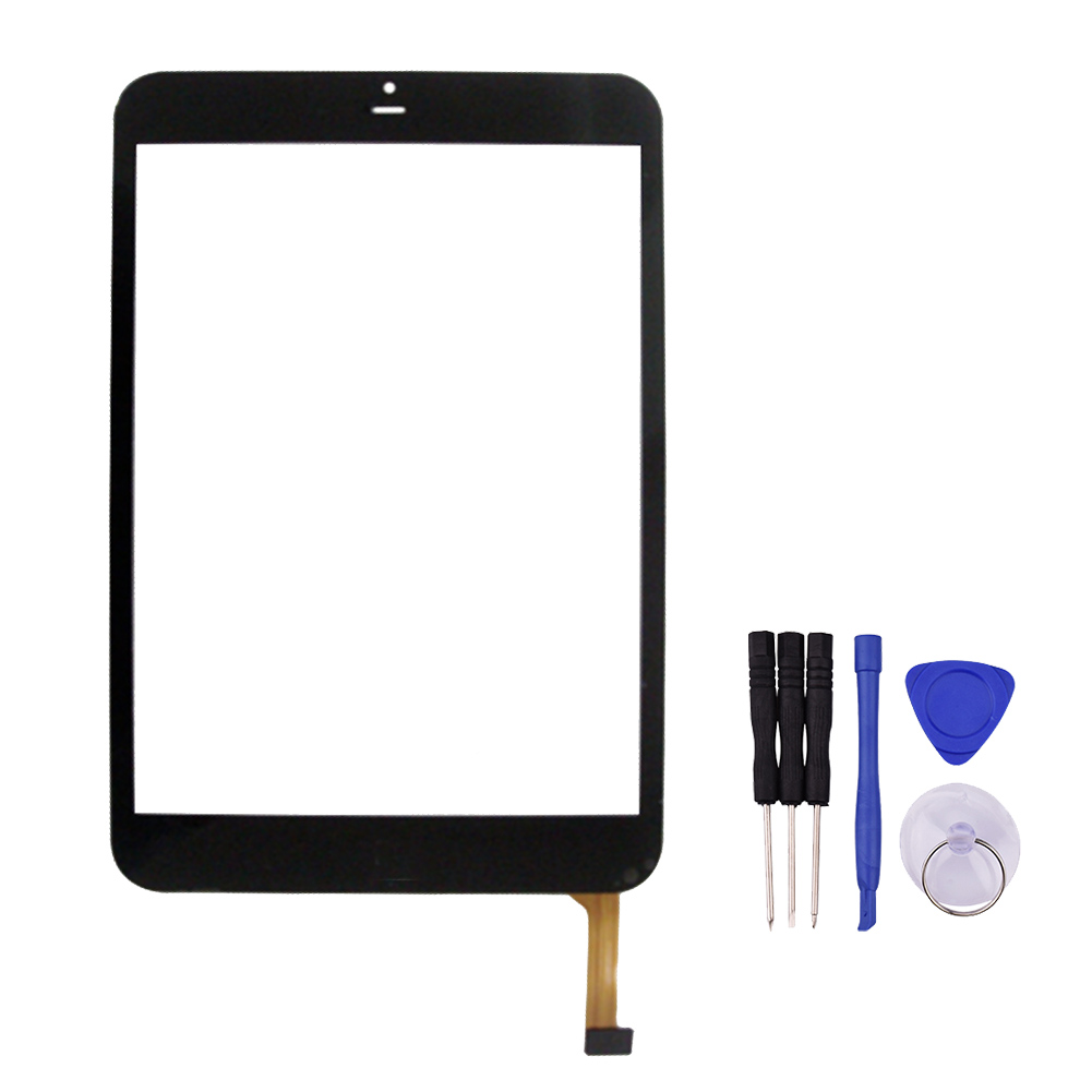 7.85 Inch Touch Screen for  Flylife Connect 7.85 3G Slim Touch Panel Digitizer Glass Sensor Replacement Free Shipping new touch screen for 10 1 fly flylife connect 10 1 3g tablet panel digitizer glass sensor replacement free shipping
