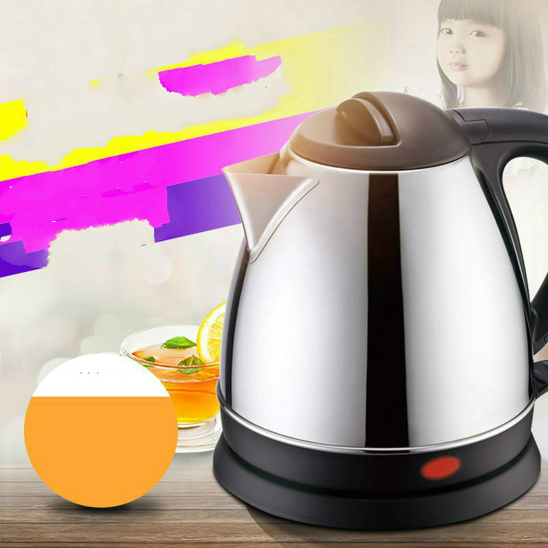 Free shipping Automatic power stainless steel electric kettle Safety Auto-Off Function free shipping stainless steel electric kettle bottle safety auto off function