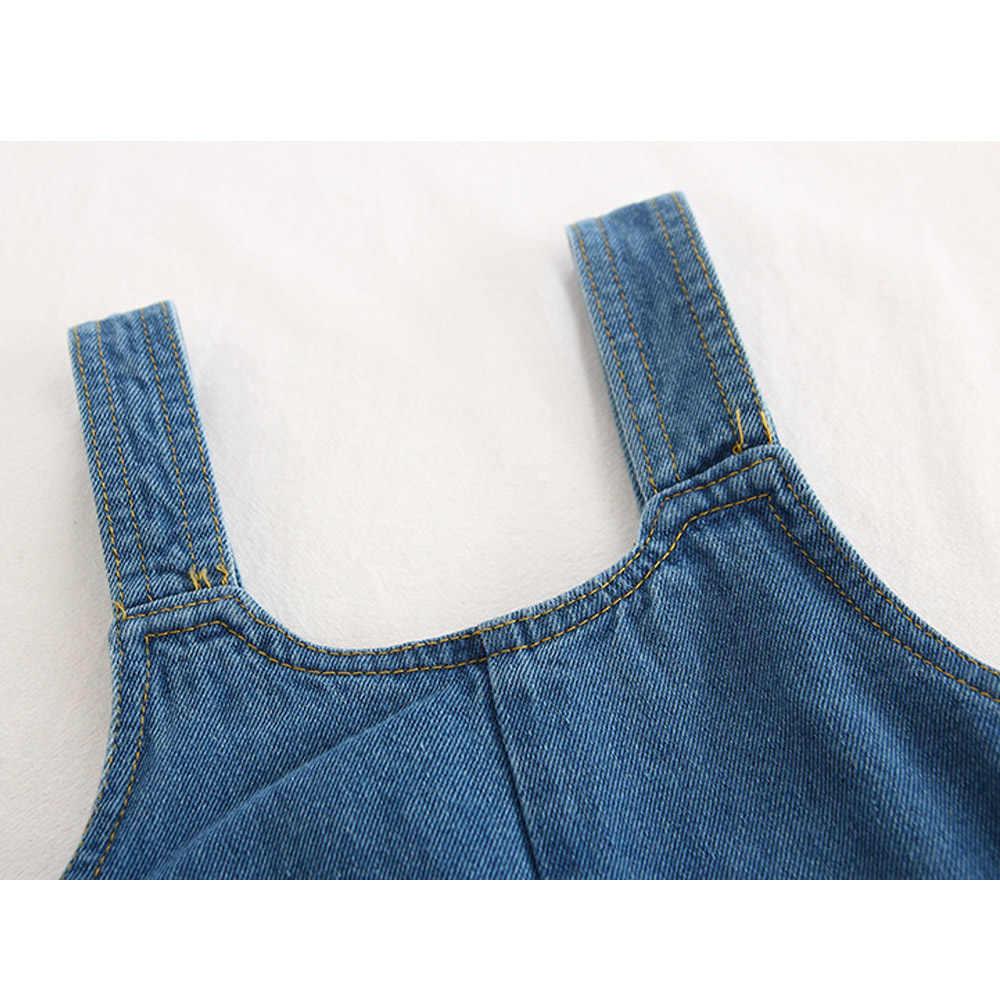 Babyinstar monos para niños, Ropa para Niñas, ropa de mezclilla, pantalones de verano, monos de sandía para niñas y niños