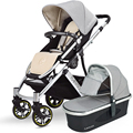 Carrycot Set Baby Stroller Can Sit and Lie High Landscape Pram Baby Carriage of Portable Folding Buggy
