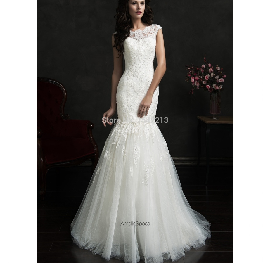 wedding dresses for sale two in one lace detachable wedding dresses 9340