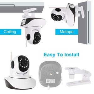 Image 3 - 1080 P bezprzewodowy Pan Tilt HD WIFI kamera IP 2.0MP wsparcie PTZ dwukierunkowe Audio temperatury w nocy i czujnik wilgotności monitor dla dziecka