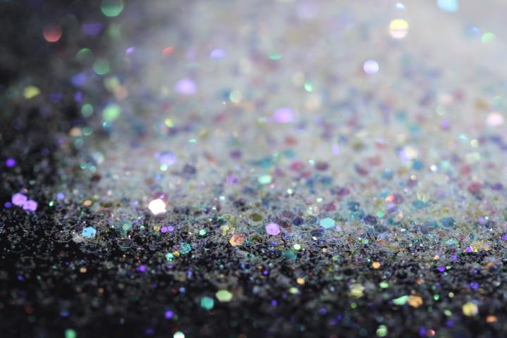 Clear Holo Unicorn Glitter