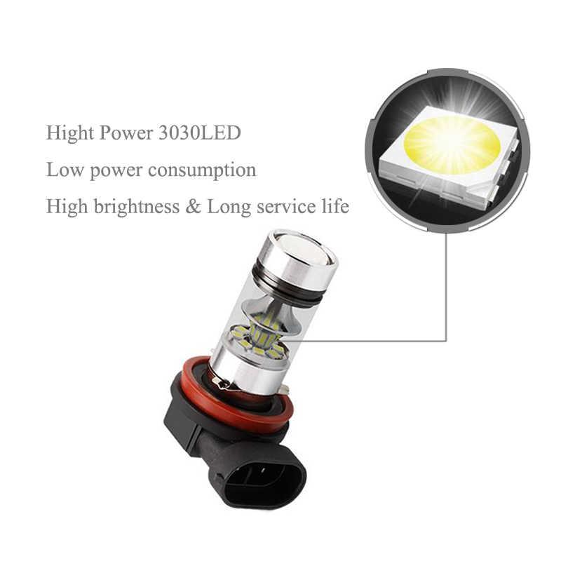 BOAOSI 1x H8 H11 LED Bulbs For Fog Lights No Error For BMW 3/5-Series 328i 335i E39 525 530 535 E46 E61 E90 E92 E93 F10 X3 F25
