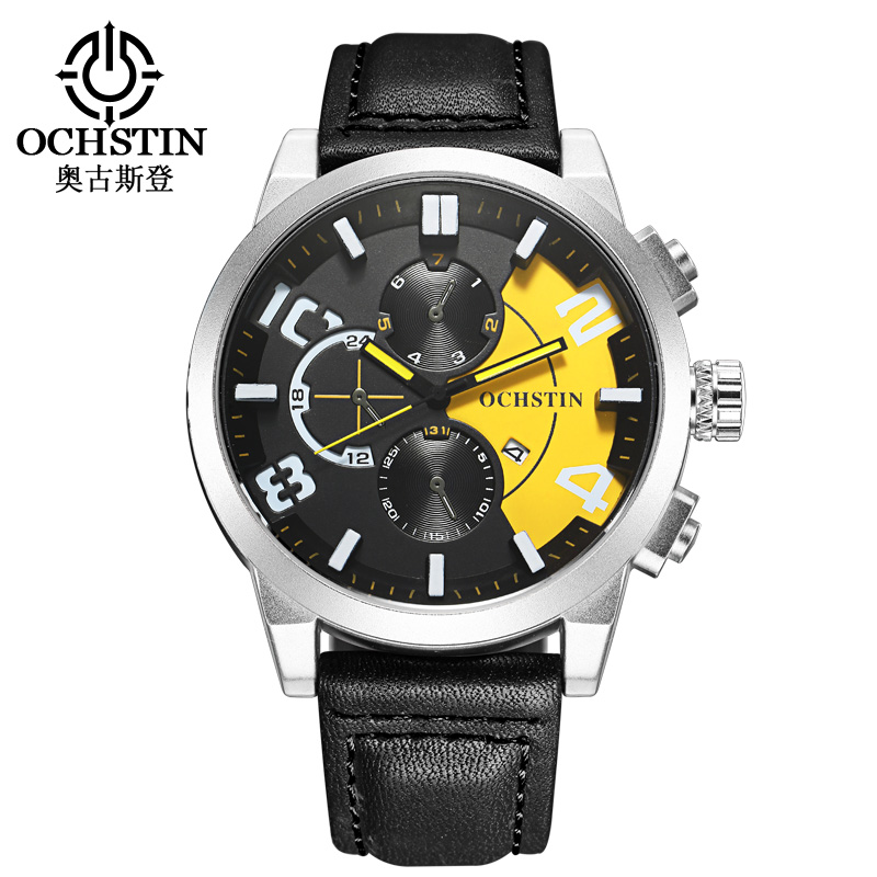 2017 OCHSTIN Fashion Mixed Color Quartz Watch Men Watches Luxury Male Clock Date Sports usiness Mens Top Brand Mens Wrist Watch 2017 jedir mens watches top brand luxury quartz watch men s fashion sports watches gift box free ship