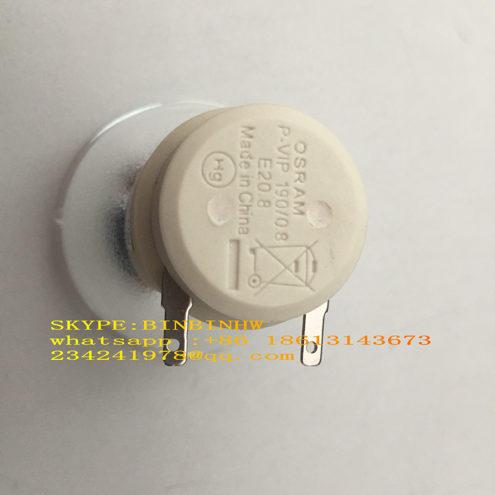Фотография Genuine Original Replacement Bare Bulb OSRAM P-VIP 190/0.8 E20.8