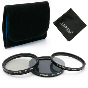 Image 2 - RISE (UK) filtro UV Camera e un Filtro Polarizzatore e ND Filter 49 millimetri/52 millimetri/55 millimetri/58 /62/67 MILLIMETRI Filtro per Sony Nikon Camera