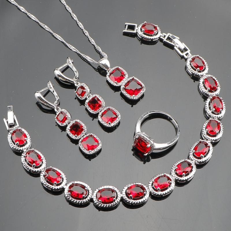925 Sterling Silver Jewelry Sets For Women