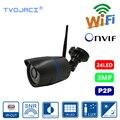 Ip-камера наблюдения WIFI 1080P Водонепроницаемая наружная сетевая CCTV камера Yoosee Беспроводная Проводная P2P bullet камера ONVIF