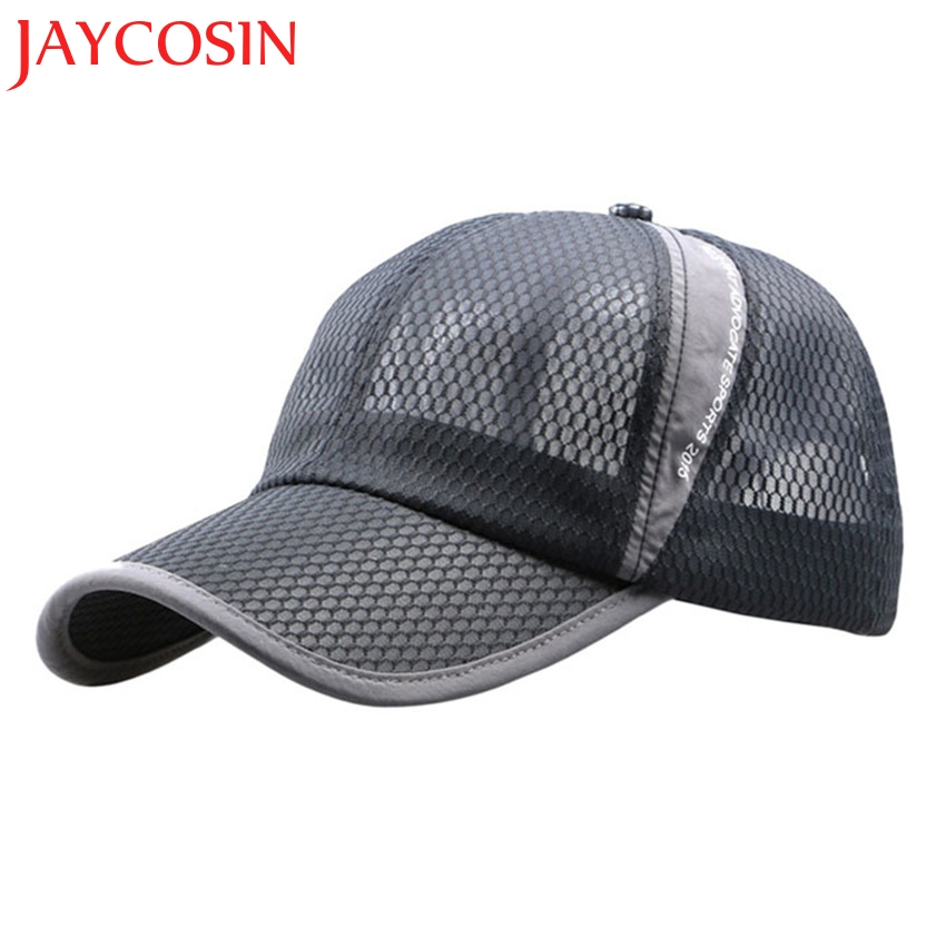 JAYCOSIN 2017 New Men And Women Outdoor Holiday Sunshade Sun Hat Quick-dry Ventilation Baseball Cap L619 Free Shiping skullies 2017 new arrival hedging hat female autumn and winter days wool cap influx of men and women scarf scarf hat 1866729