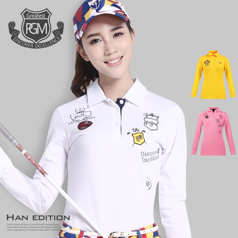 Brand Golf Cotton Womens Golf Shirts Plus Size Golf