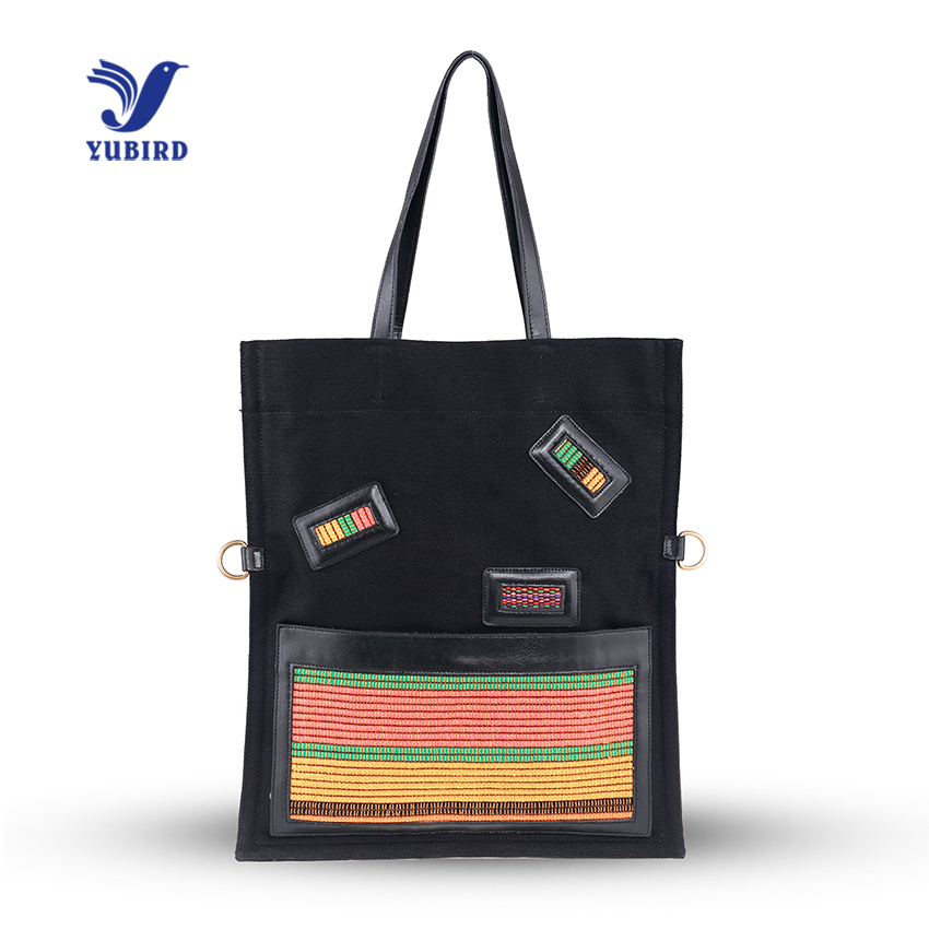 YUBIRD Brand Classical Simple Casual Canvas Shoulder Bag for Women Handbag Big Capacity Daily Tote Bag Female Weekend Bags 2017 aosbos fashion portable insulated canvas lunch bag thermal food picnic lunch bags for women kids men cooler lunch box bag tote